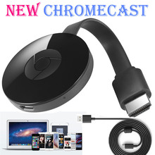 for Google Chromecast 2 Digital HDMI Media Video Streamer 2015 2nd Generation Dual Band wireless Wi-Fi For HDTV pc Chromebook