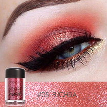 Focallure Brand New Pro Makeup Glitter Eyeshadow Matt Shimmer Pigment 12 Colors Loose Powder Beauty Makeup Nude Eye Shadow(China)