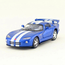 Free Shipping/KiNSMART Toy/Diecast Model/1:36 Scale/Dodge Viper GTSR Super/Pull Back Car/Educational Collection/Gift/Children