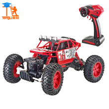 New 1:18 Scale Waterproof 4WD Strength Toys for Kid High Speed Electronics Remote Control Truck RC Racing Cars Toys for Children(China)