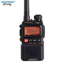 BaoFeng UV-3R plus long-range wireless Portable WalkieTalkie Dual band CB radio Professional FM transceiver radio