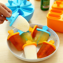 Ice Cream Mold Set Kitchenware Refrigerator Accessories Form For Ice Popsicle Stick With Bowl Creative Tray DIY Tool Gift