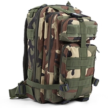 Military Tactical Backpack Oxford 9 Colors 30L 3P Bags Tactical Backpack Outdoor Sports Bag Hunting Camping Climbing Fishing Bag(China)