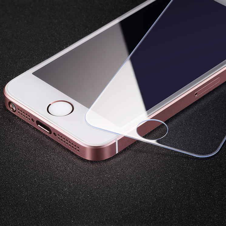 Set of 2 Tempered Glass Protectors for iPhones