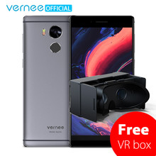"Vernee Apollo Mobile Phone Helio X25 Deca-Core 5.5"" 2K Display 21.0MP Cell phones 4G RAM 64G ROM 4G Lte VR Android6.0 Smartphone(China)"