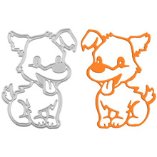 Pet Dog Metal Cutting Dies Stencils DIY Scrapbooking Album Decorative Embossing Paper Cards