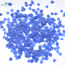1000pcs 1inch Multicolor heart Paper Confetti Balloon kit Wedding Party Table Decoration Wedding centerpiece party decoration