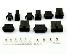 2.54mm Pitch 2Pin/3Pin/4Pin/5Pin JST SM Housing w Crimp Terminal Connector