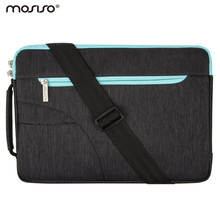 Mosiso Notebook Strap Case Shoulder Bag for MacBook Air 11 13 Pro 13 15 Acer Lenovo Dell Lenovo Sumsong 11.6 13.3 15.6 inch