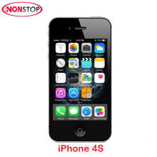 "Used iPhone 4s Unlocked Original Apple iPhone 3.5"" IPS 8MP Smartphone 512 MB RAM 8/16/32GB Used Black And White Mobile iPhone 4s(China)"