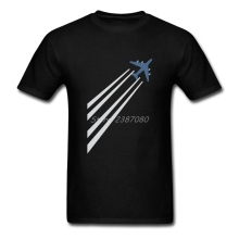 Buy Airplane T Shirt Custom Short Sleeve Men's T-shirt Summer Car Styling O-neck Cotton Plus Size Am Pilot Tees Shirts Homme for $12.76 in AliExpress store