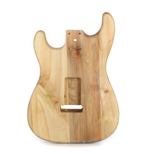 Unfinished DIY Guitar Body Maple Body For Fender ST Style Guitar Nature Color Durable Lightweight DIY Working Guitar Parts(China)