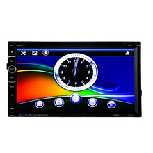 New Arrival 2 Din Car DVD Player CD 7 inch Universal built-in Bluetooth Handfree FM Transmitter Car Radio Player