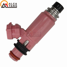 4pcs 550CC Fuel Injector Oem Number 195500-3910 16611-AA510 Auto Spare Parts Nozzle Accessory Factory Direct Sale(China)