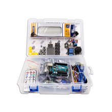 UNO R3 KIT Upgraded version for Arduino Starter Kit RFID Learn Suite Stepper Motor + ULN2003 Free Shipping 1 set(China)