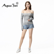 Buy Spring Blusas Femininas 2018 E Camisas Slash Neck Long Sleeve Shirt Women Clothes Sexy Blouse Fashion Clothing Chemise Femme for $9.03 in AliExpress store