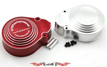 1/5 rc car gas GTB RACING baja 3 speed cover case metal red and silver color choose