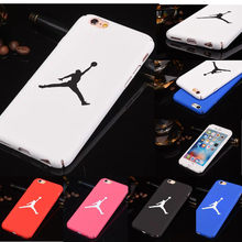 Для iphone 8 plus Роскошный чехол для человека Jordan Air Jump Thin Capas для iphone 8 plus 7 plus 8 7 6 plus 5S 5 SE Sport(China)