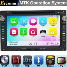 MTK3360 Car DVD Player For VW BORA(MK3,4) VW POLO(MK3,4) 1999-2008 with 800MHz CPU Dual Core Bluetooth Radio GPS Navigation