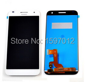 Huawei Ascend G7 Lcd display with Touch Glass Digitizer Assembly white color<br><br>Aliexpress