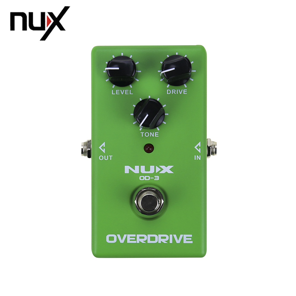 Electronic NUX OD-3 Overdrive Guitar Guitarra Violao Electric Effect Pedal Ture Bypass Musical Instrument Parts<br>