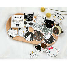 90pcs/set Anime Stickers Notebook Sticker Funny Cartoon Animal Cat Stickers Decorative Smile Cats Cute For Notebook For Laptop