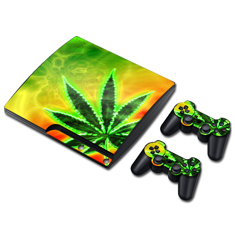 Decal-Cover Skins Controllers Playstation Tn-P3slim-3210 Console Vinyl Body for PS3 3-system/Console/And/.. title=