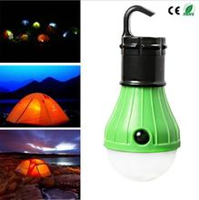 High quality CE/ROHS Three gears Outdoor Hanging LED Camping Tent Light Bulb Fishing Lantern Lamp 1 year guarantee replacement