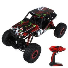 3 Fashion Colors Ready-to-go HB - P1003 Crawlers 4x4 Driving 2.4G Four wheel Drive Rally Car Exciting Game Toy(China)