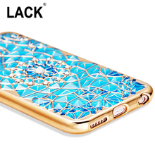 "Luxury Bling Diamond Case For iphone 6 Case For iphone 6S 6 Plus i6 4.7/5.5"" Soft Silicone Thin Cover Electroplating Phone Cases(China)"