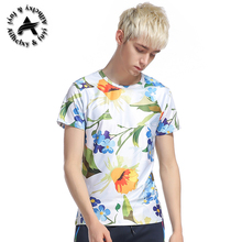 2017 Hot New Style Casual Men 3D T Shirt Short Sleeve tattoo Digital Printing Summer Tops size M-XXL(China)
