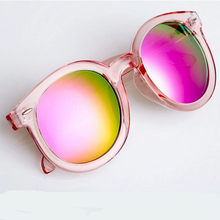 Beatiful Vintage Cat Eye Female Sunglasses Women Brand Designer Round Pink Sun Glasses Women's Glasses Feminine