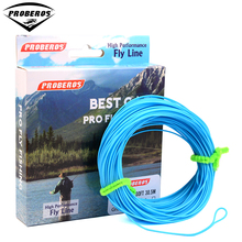 1pc PRO BEROS Fly Line 4 Color 100FT Weight Forward Floating Fly Fishing Line WF-2F/3F/4F/5F/6F/7F/8F(Hong Kong)