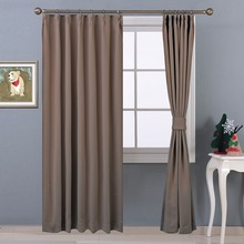 NICETOWN 1 Panel Ready Made Blackout Window Curtains / Drapes for Living Room Grommet / Rod Pocket / Hooks Top / Pencil Pleat
