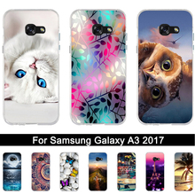 Case for Samsung Galaxy A3 2017 Luxury Soft Silicone Back Cover Case for A3 2017 A320F A320 fundas for samsung A 3 2017 Coque(China)