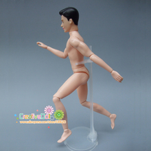 Moveable Joints Prince Doll Body 1/6 Naked Man Body For Ken Male for barbie Doll's DIY Naked Male Doll with head