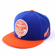 Design your own custom 3D embroidery strapback hats hip hop snapback(China)