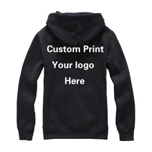Custom print Logo Hood Sweatshirt Unisex Customized Printing Embroidery Your logos Photos Names Personalized Design Garment