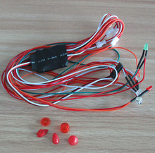 Airwolf 600 wolf 600 LED LIGHTING for airwolf 600 bell 222 fuselage helicopter parts
