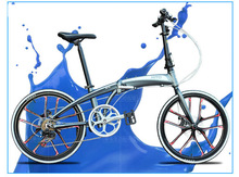 20 /22inch HITO bike 7 speed bicycle disc brake aluminum alloy bicycle mountain bike folding bike 140-185CM MTB folding bicycle