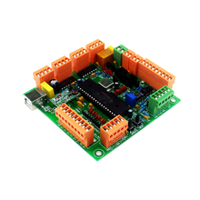 Integrated Circuit 4 Axis USB CNC Controller Interface Board CNCUSB MK1 USBCNC 2.1 Substitute MACH3+DVD disk