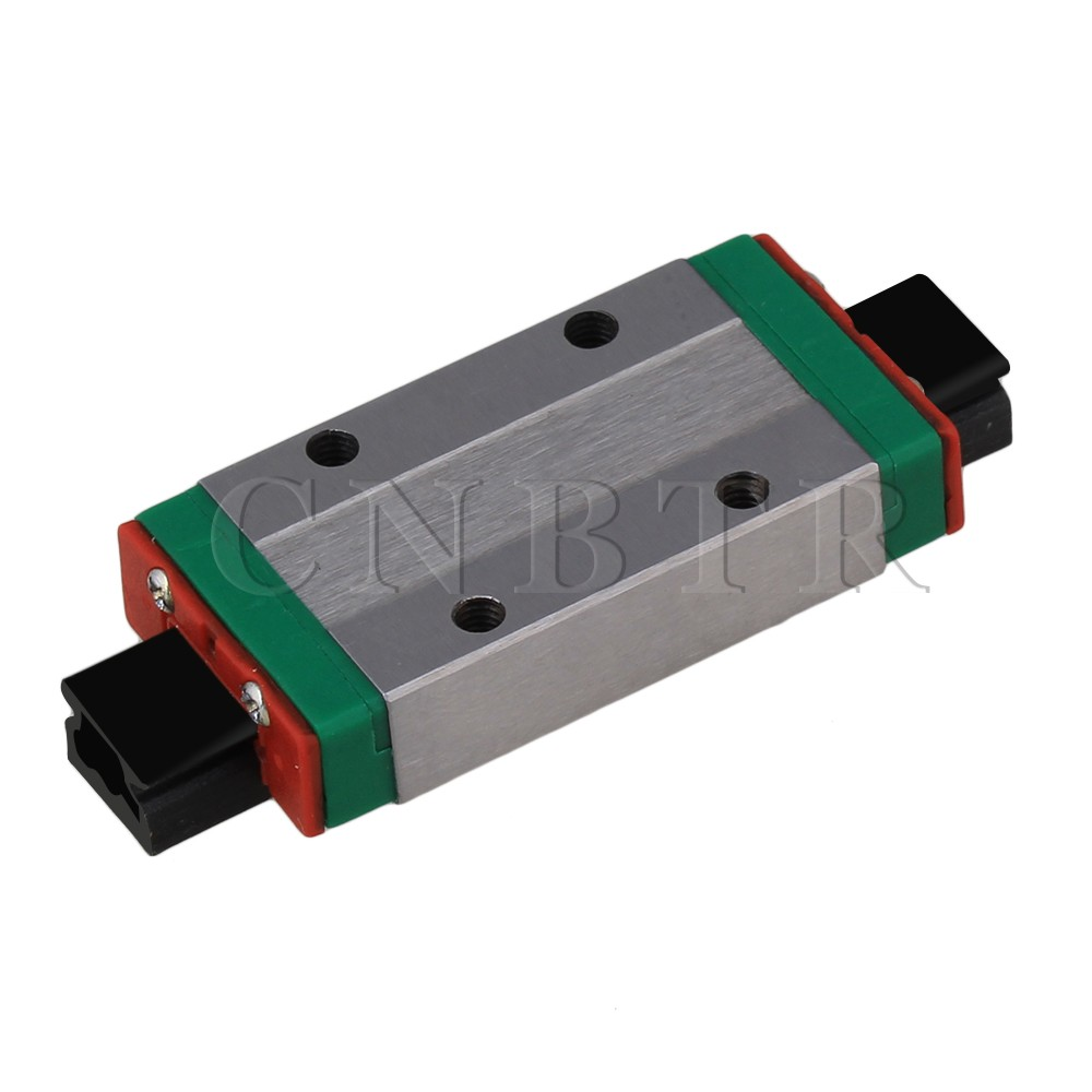 CNBTR 8mm Thick 40mm Length Extension Linear Guide Rail Sliding Block MGN9H<br><br>Aliexpress