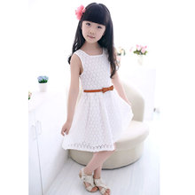 Glass heart dress girls vestidos costume for kids robe fille princess disfraz vetement elbise summer reine des neiges jurken(China)