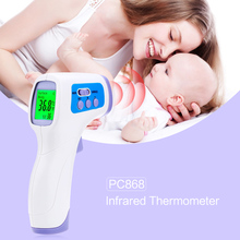 Brand New Infrared Thermometer Baby Digital Termomete Forehead IR Temperature Gun Adult Non-contact Temperature Measurement Tool