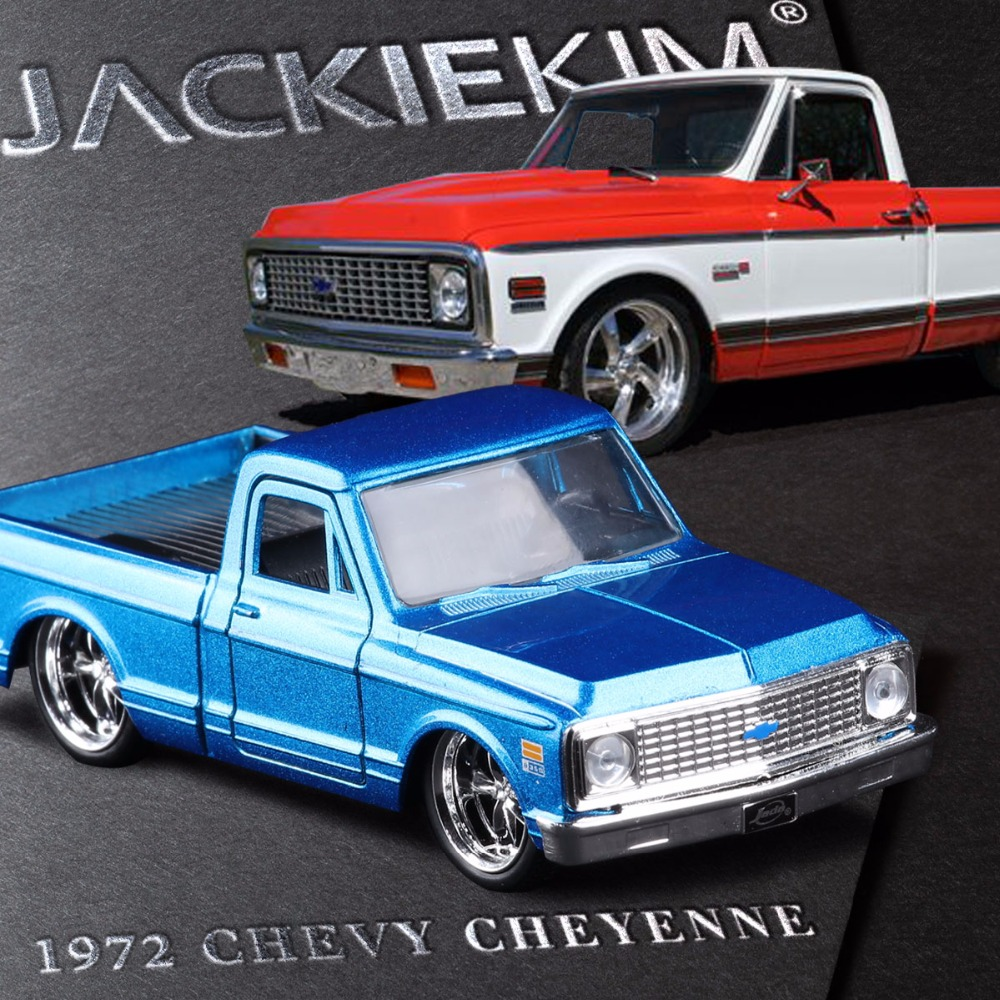JADA 1:32 scale High simulation alloy model car CHEYENNE Pickup truck quality toy models Free shipping(China (Mainland))