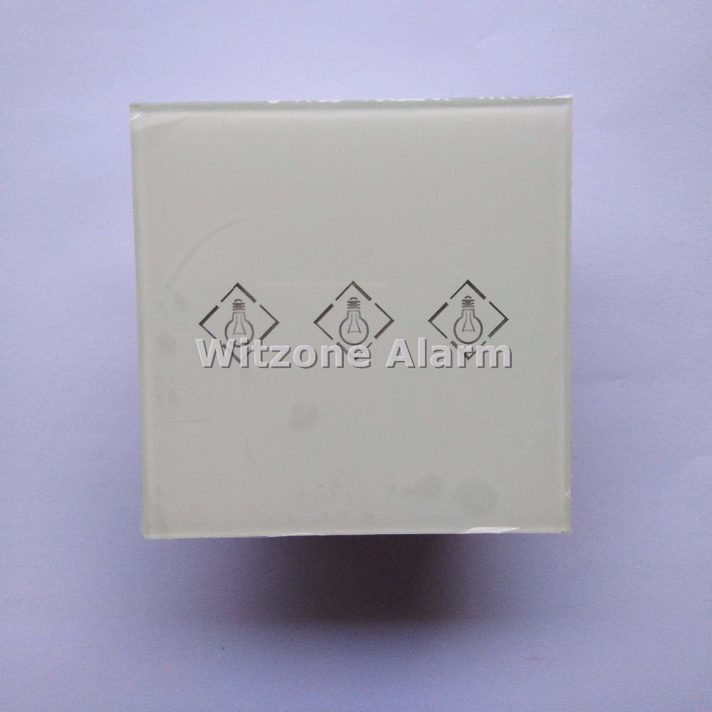 3CH Wireless Touch Keypad Electronic Switch Remote Control House Appliance 220V for Meiantech Wireless Alarme Sytems<br>