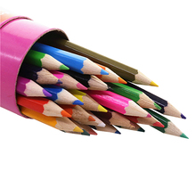 Student Stationery 24 Colors Colored Pencil 1 Box 24pcs Paintings For Primary And Secondary School Students Gift Pen(China)