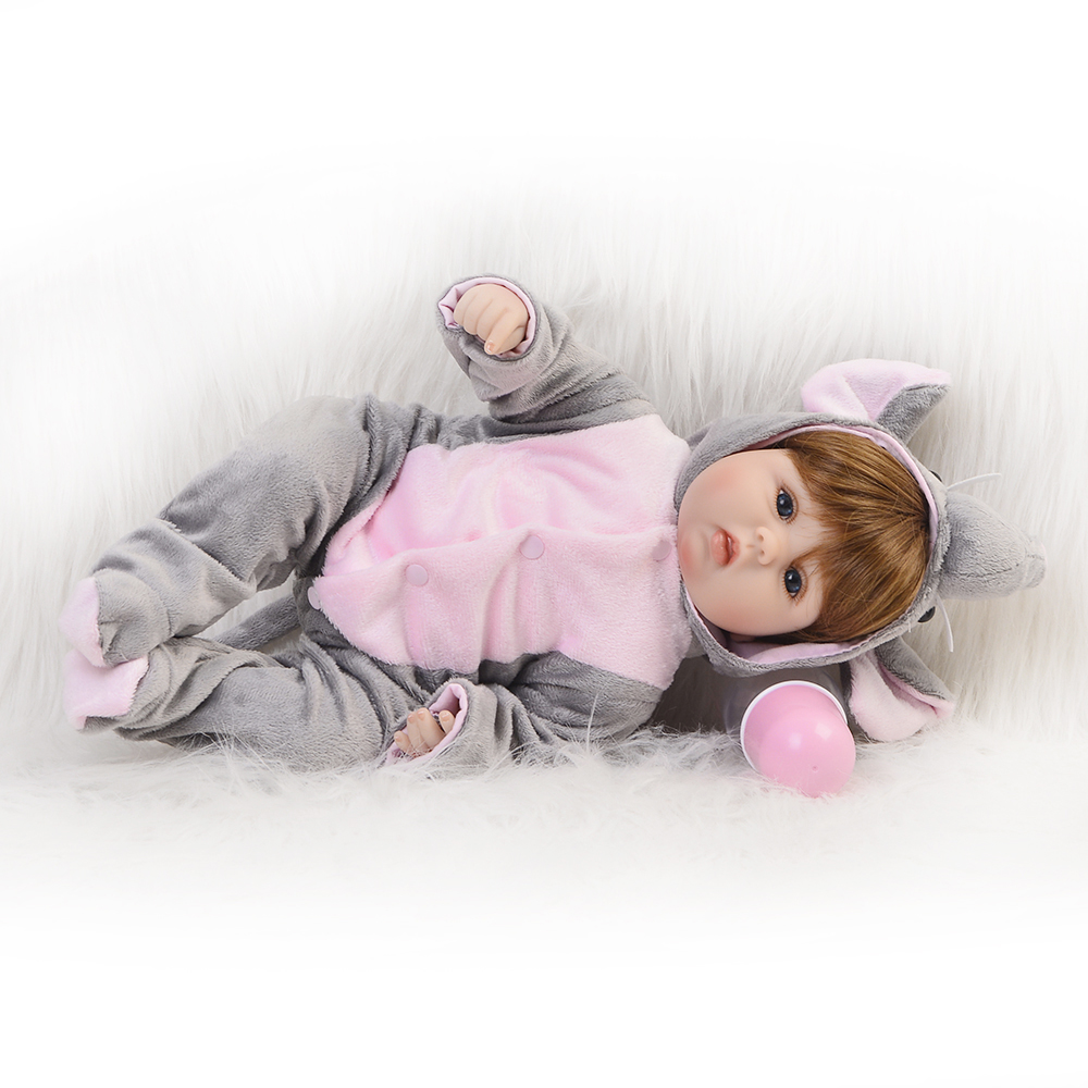 Cosplay-Elephant-Reborn-baby-Dolls-DIY-Toys-16-inch-Realistic-Silicone-Babies-Doll-Touch-Soft-Cartoon (3)