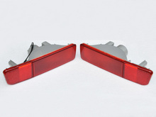 Hot For 2004 Mitsubishi Outlander Tail Fog Light Bumper Rear Lamps Pair Left & Right [QP865](China)
