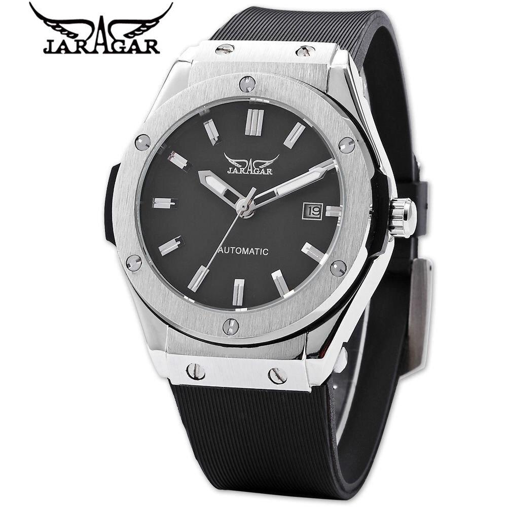 New 2017 JARAGAR Fashion Army Watch Men Auto Mechanical Day Watches Sport Wristwatch Free Ship<br><br>Aliexpress